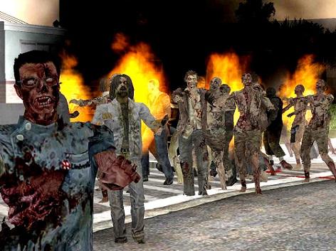 зомби в gta san andreas