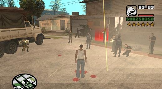 Код на бессмертие в GTA San Andreas