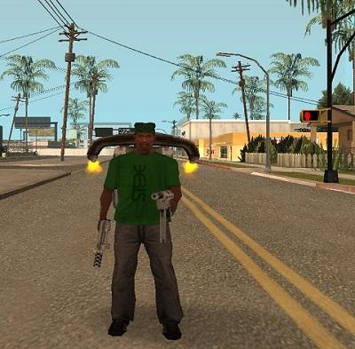 Коды на GTA San Andreas на JetPack