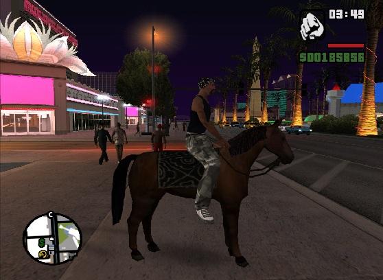 коды на лошадь в gta san andreas