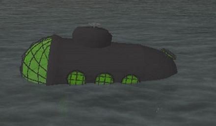 Подводная лодка в GTA San Andreas: чит-коды, мод
