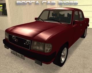 Модель русского авто ГАЗ-31029