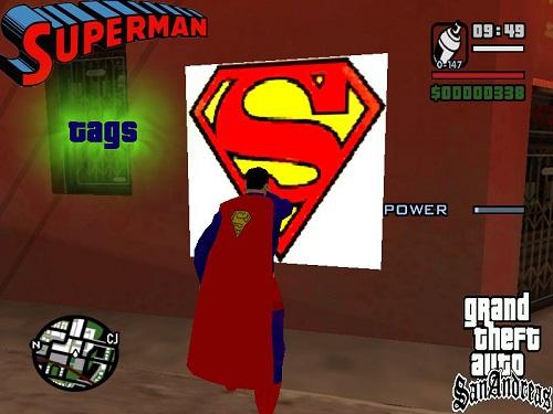 Супермен в GTA San Andreas