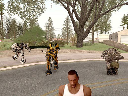 Трансформеры в GTA San Andreas