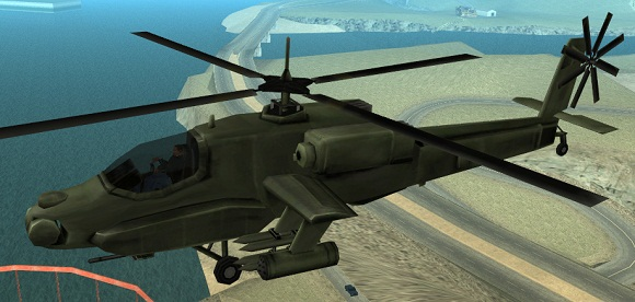 Вертолеты в GTA San Andreas